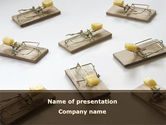 Business Concepts: Mouse Traps With Cheese PowerPoint Template #09127