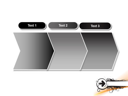 Black Arrow PowerPoint Template Slide 16
