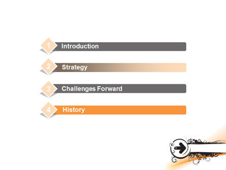 Black Arrow PowerPoint Template Slide 3