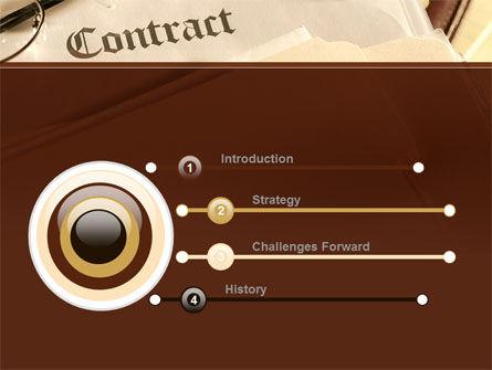 Treaty PowerPoint Template Slide 3