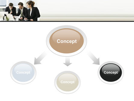 Teamwork PowerPoint Template, Slide 4, 09134, Business — PoweredTemplate.com