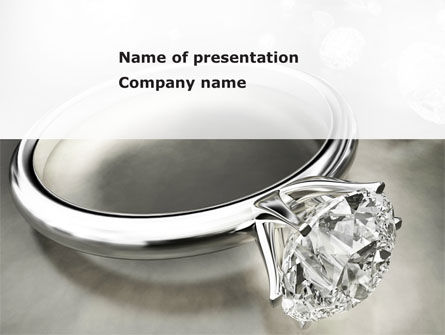 Diamond Ring PowerPoint Template