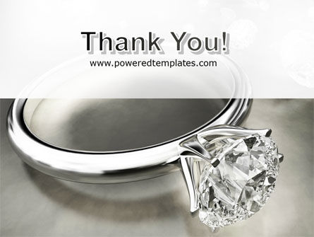 Diamond Ring PowerPoint Template Slide 20