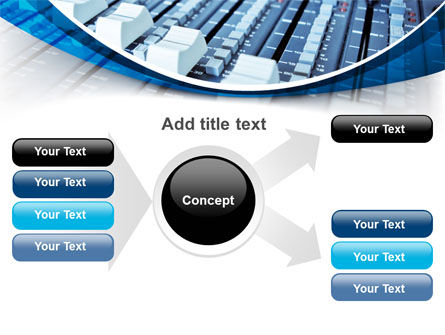 Audio Mixing Console PowerPoint Template Slide 14