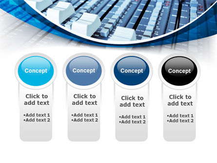 Audio Mixing Console PowerPoint Template Slide 5