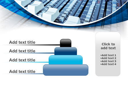 Audio Mixing Console PowerPoint Template Slide 8