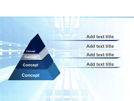 Blue Movement PowerPoint Template Slide 12