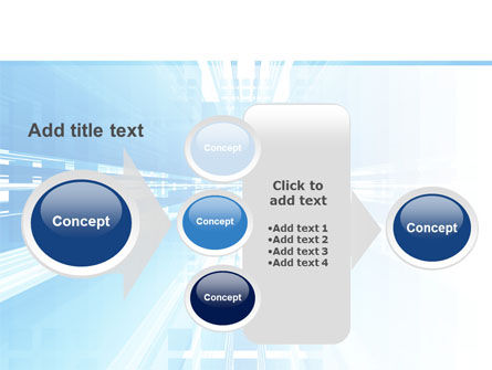 Blue Movement PowerPoint Template Slide 17