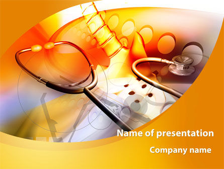 Medical: Physiotherapist PowerPoint Template #09145
