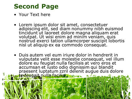 Agronomy And Agriculture Powerpoint Template Backgrounds 09148