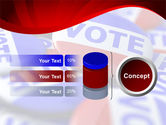Vote Badges PowerPoint Template#11