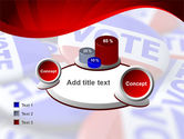 Vote Badges PowerPoint Template#16