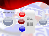 Vote Badges PowerPoint Template#17