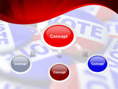 Vote Badges PowerPoint Template#4