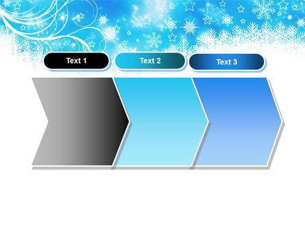 Snowflakes Swirl PowerPoint Template Slide 16