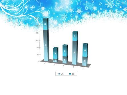 Snowflakes Swirl PowerPoint Template Slide 17