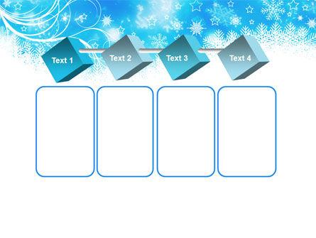 Snowflakes Swirl PowerPoint Template Slide 18
