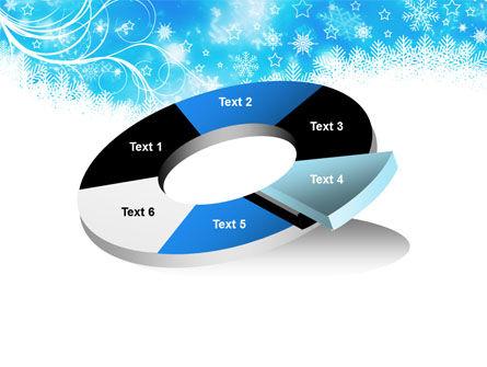 Snowflakes Swirl PowerPoint Template Slide 19