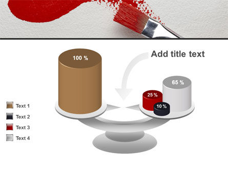 Red Paint Brush PowerPoint Template Slide 10
