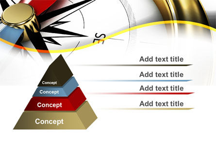 Compass in Business Consulting PowerPoint Template Slide 12