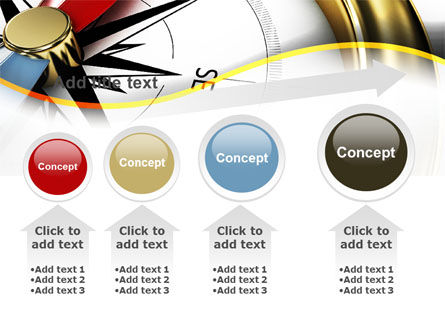 Compass in Business Consulting PowerPoint Template Slide 13