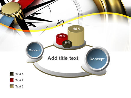 Compass in Business Consulting PowerPoint Template Slide 16