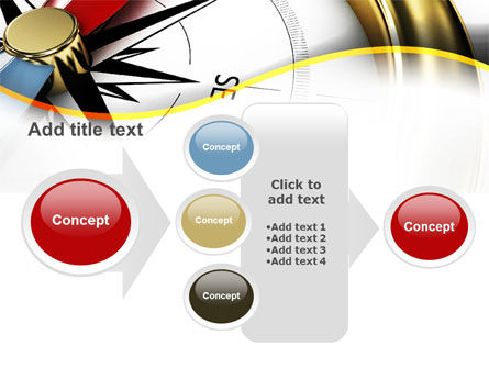 Compass in Business Consulting PowerPoint Template Slide 17