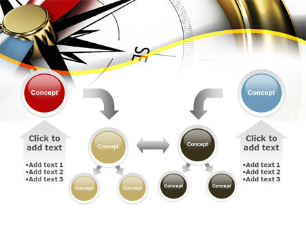 Compass in Business Consulting PowerPoint Template Slide 19