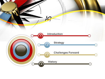Compass in Business Consulting PowerPoint Template Slide 3