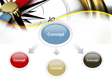 Compass in Business Consulting PowerPoint Template Slide 4