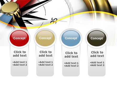 Compass in Business Consulting PowerPoint Template Slide 5
