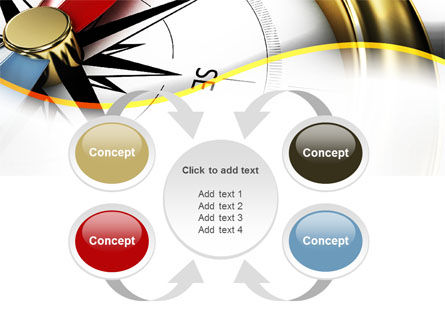 Compass in Business Consulting PowerPoint Template Slide 6
