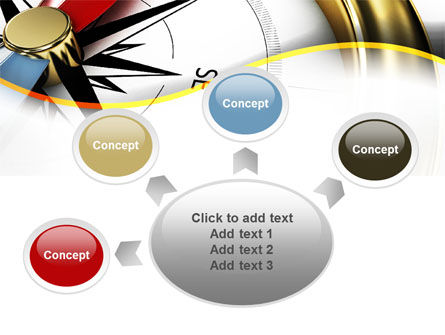 Compass in Business Consulting PowerPoint Template Slide 7