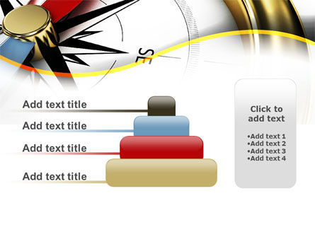 Compass in Business Consulting PowerPoint Template Slide 8