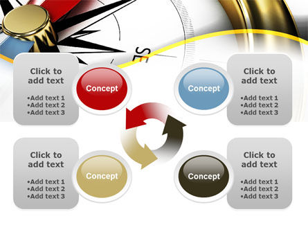 Compass in Business Consulting PowerPoint Template Slide 9