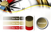 Compass in Business Consulting PowerPoint Template#11