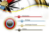 Compass in Business Consulting PowerPoint Template#3