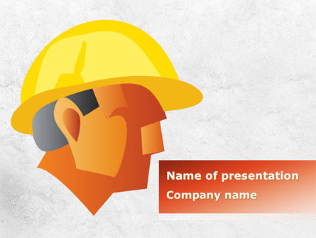 Builder's Portrait PowerPoint Template
