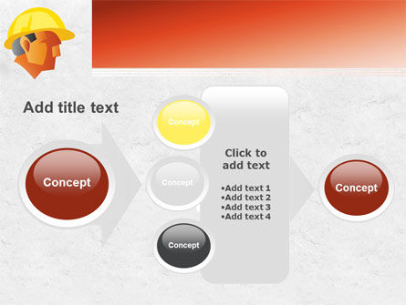 Builder's Portrait PowerPoint Template Slide 17