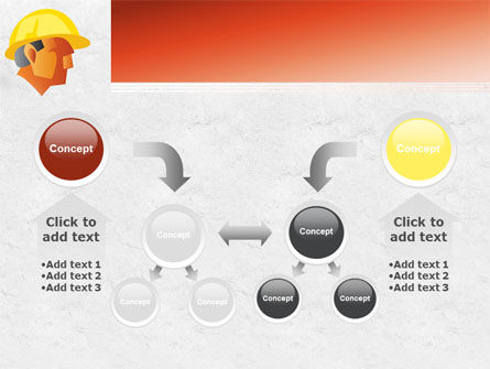 Builder's Portrait PowerPoint Template Slide 19