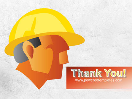 Builder's Portrait PowerPoint Template Slide 20