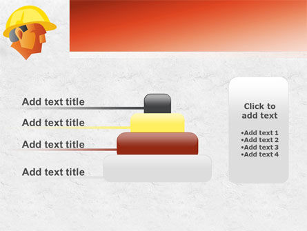 Builder's Portrait PowerPoint Template Slide 8