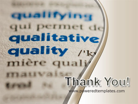 Meaning of Quality PowerPoint Template Slide 20