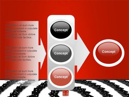 Principle Dominoes PowerPoint Template Slide 11