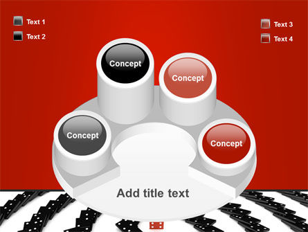 Principle Dominoes PowerPoint Template Slide 12