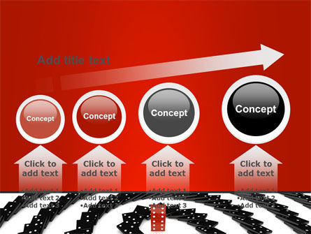 Principle Dominoes PowerPoint Template Slide 13