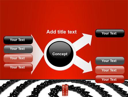 Principle Dominoes PowerPoint Template Slide 14