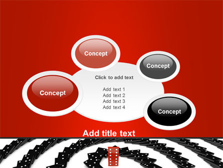 Principle Dominoes PowerPoint Template Slide 16