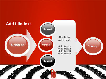 Principle Dominoes PowerPoint Template Slide 17