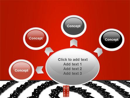 Principle Dominoes PowerPoint Template Slide 7